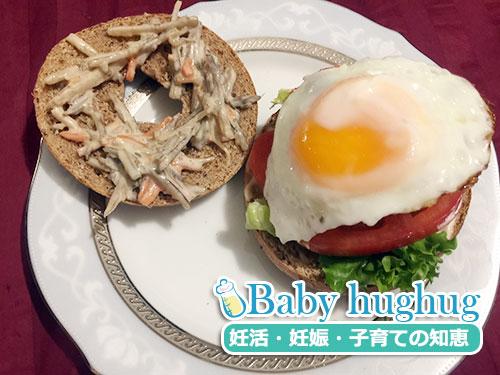 妊娠5週目 今朝の朝食